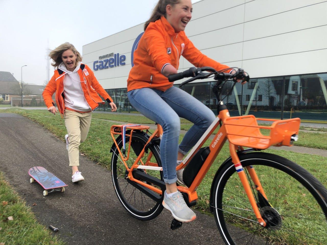 De Gazelle-fiets voor de Olympische Spelen in Tokio