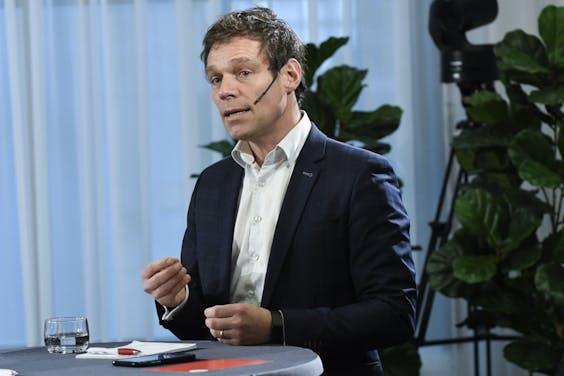 Martijn van Helvert, oud-CDA-Kamerlid en bestuurslid bij Ondernemend Nederland (ONL).