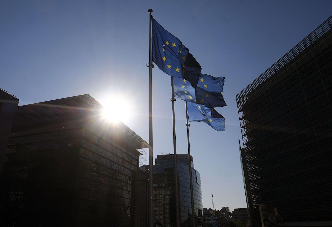 Het hoofdkwartier van de Europese Commissie