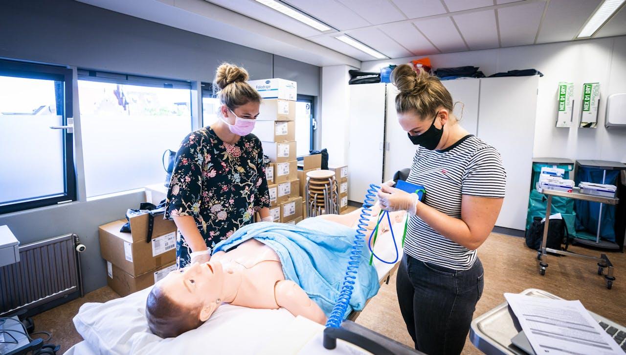 Studenten Verpleegkunde