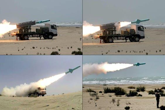 Handout pictures Defensie Iran