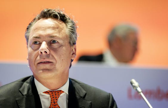 CEO Ralph Hamers van ING