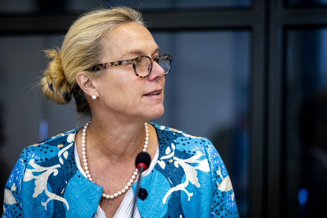Minister Sigrid Kaag van Buitenlandse Handel en Ontwikkelingssamenwerking