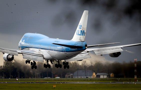 De laatste Boeing 747-400 van KLM