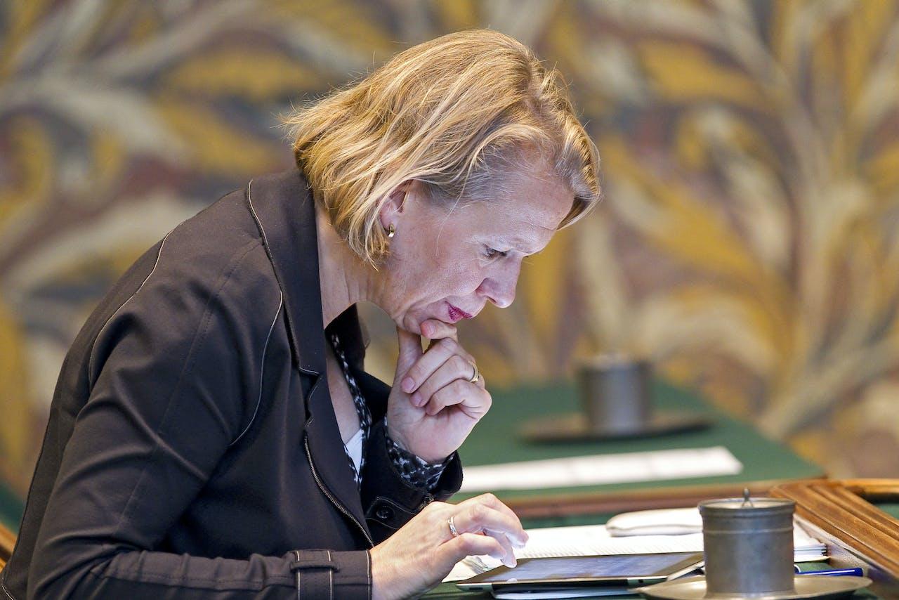 Anne-Wil Duthler, lid van de Eerste Kamer der Staten-Generaal.