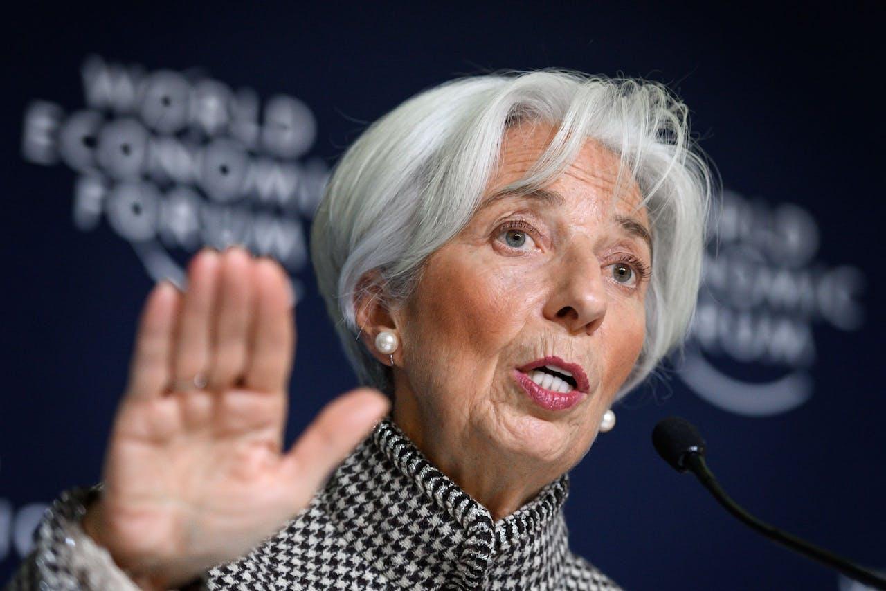 IMF-baas Christine Lagarde