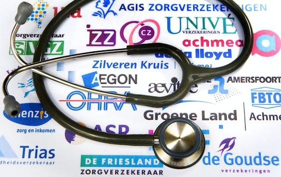 HAARLEM - (ILLUSTRATIE) Zorgverzekeraars met stethoscoop.