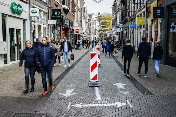 Het centrum van Zwolle.