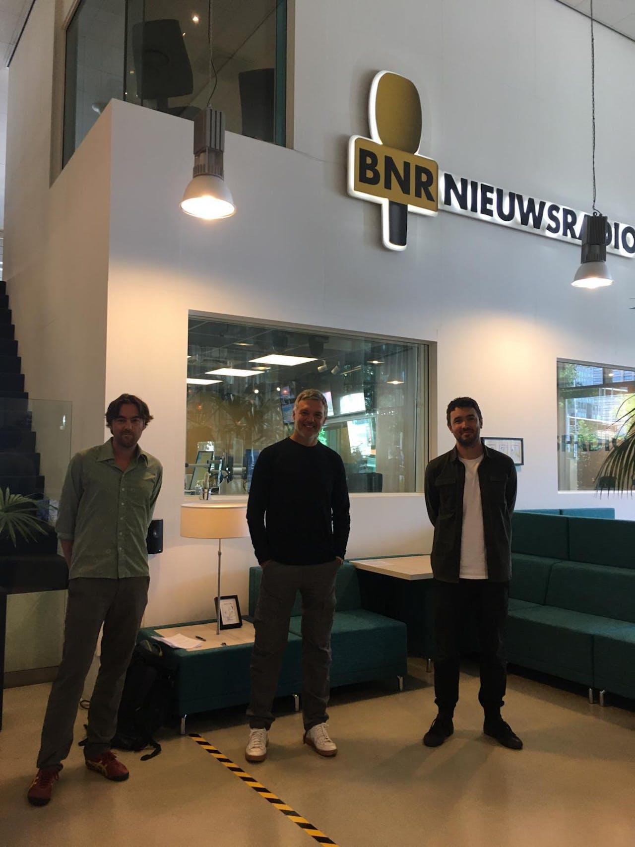 V.l.n.r.: Marc Nolden, Paul Laseur en Tim Verlaan.