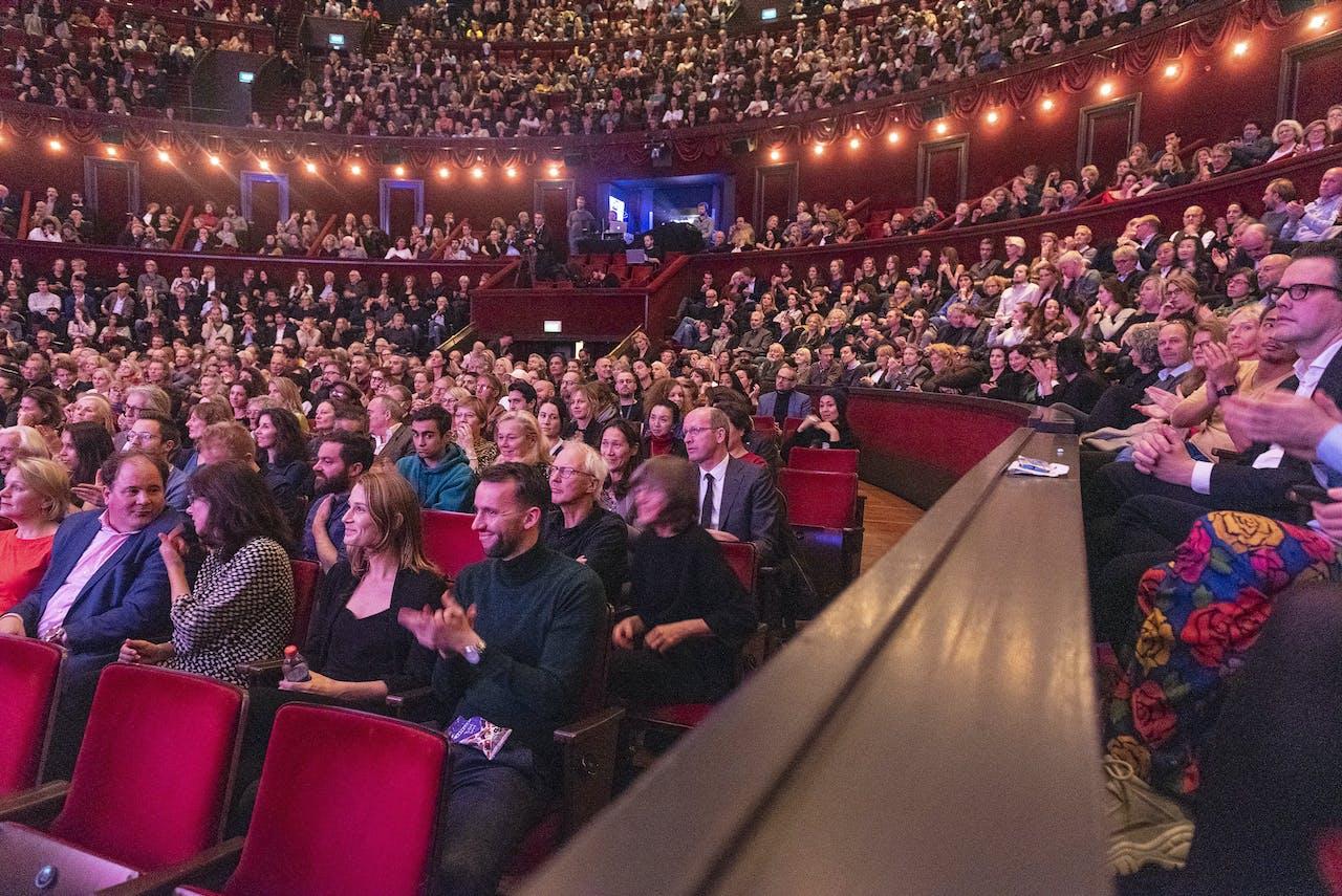 De openingsavond van het Internationale Documentaire Festival.