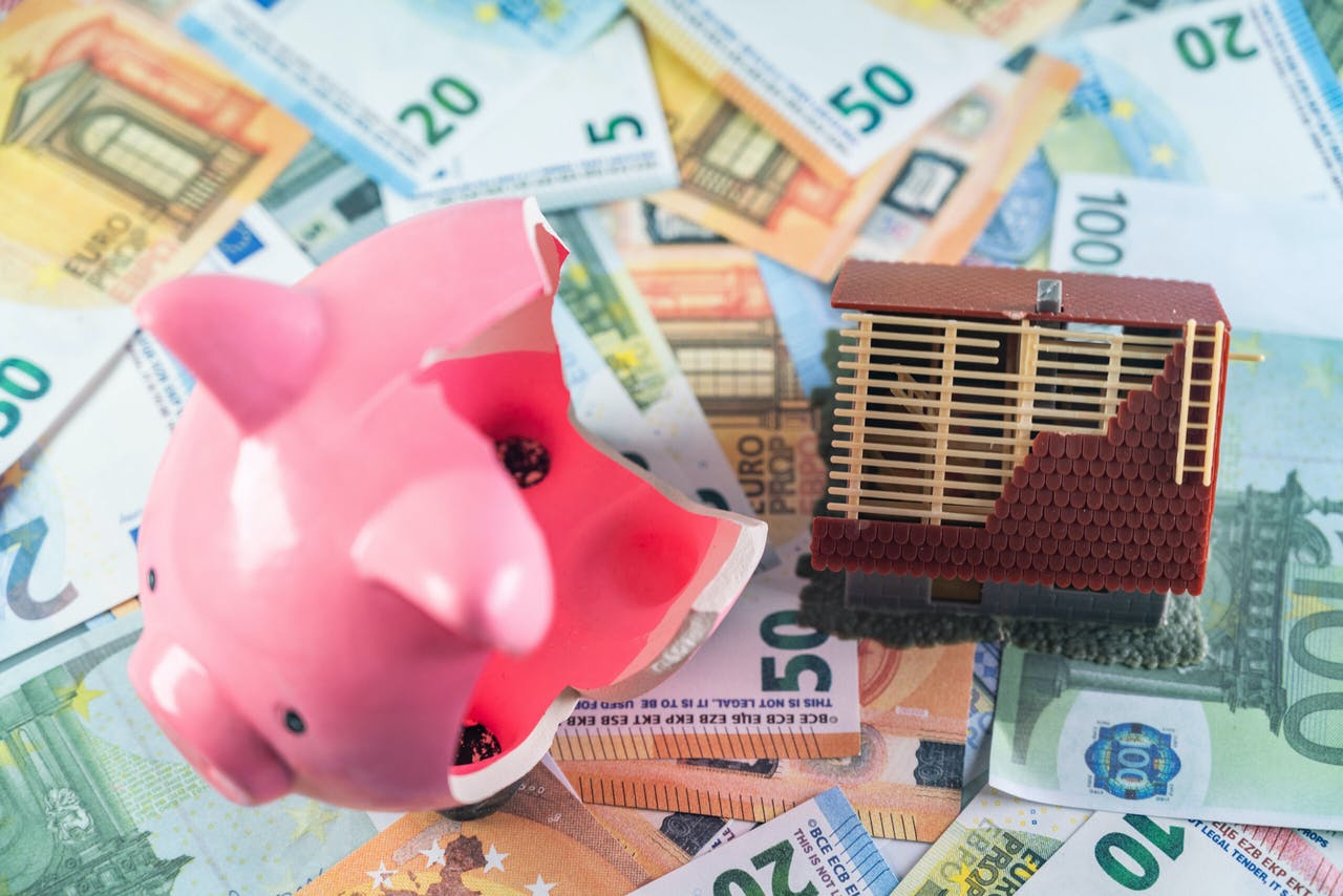 Illustratief - De prijs voor een koopwoning is gigantisch gestegen. Mensen moeten steeds dieper in de buidel tasten om een woning te kunnen kopen. ANP / Hollandse Hoogte / Venema Media