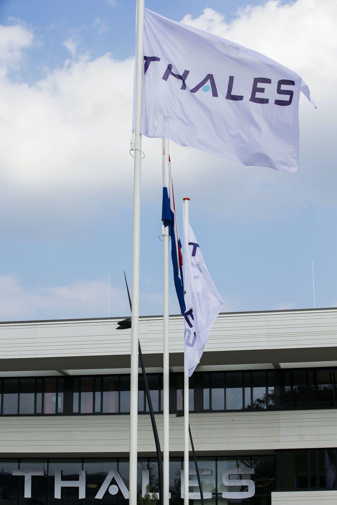Het nieuwe pand van hightechbedrijf Thales Nederland.