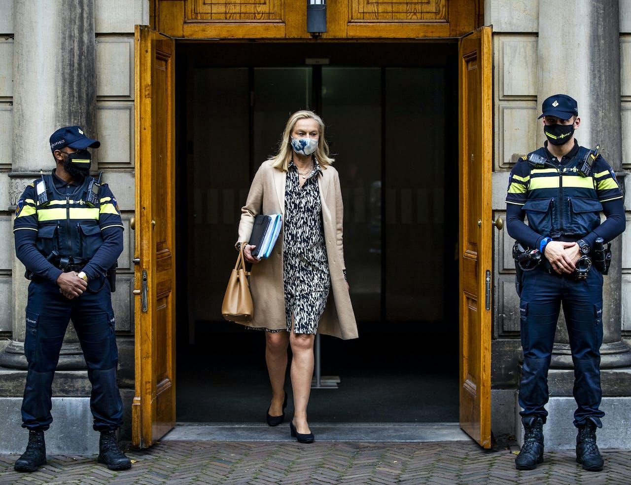 Sigrid Kaag, minister van Buitenlandse Handel en Ontwikkelingssamenwerking, verlaat het Ministerie van Algemene Zaken.
