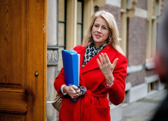 Staatssecretaris Mona Keijzer van Economische Zaken en Klimaat