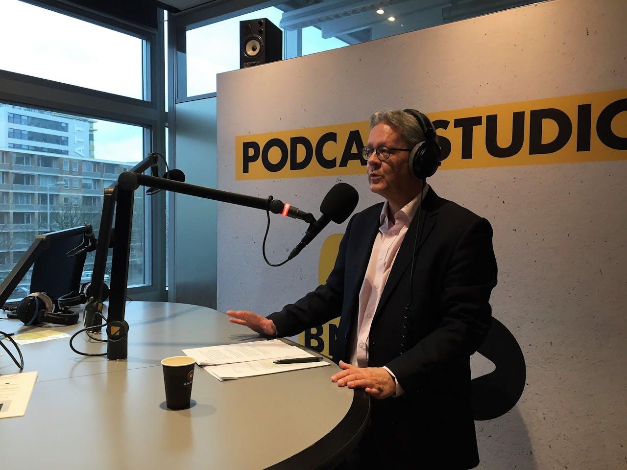 Ron Keller, eind vorig jaar te gast over de Rusland-strategie bij BNR's Perestrojkast