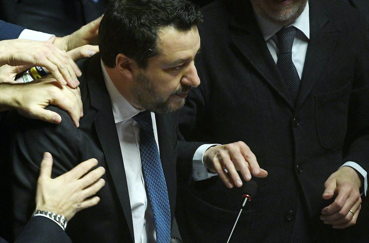 Matteo Salvini, politicus van de rechtse partij Lega