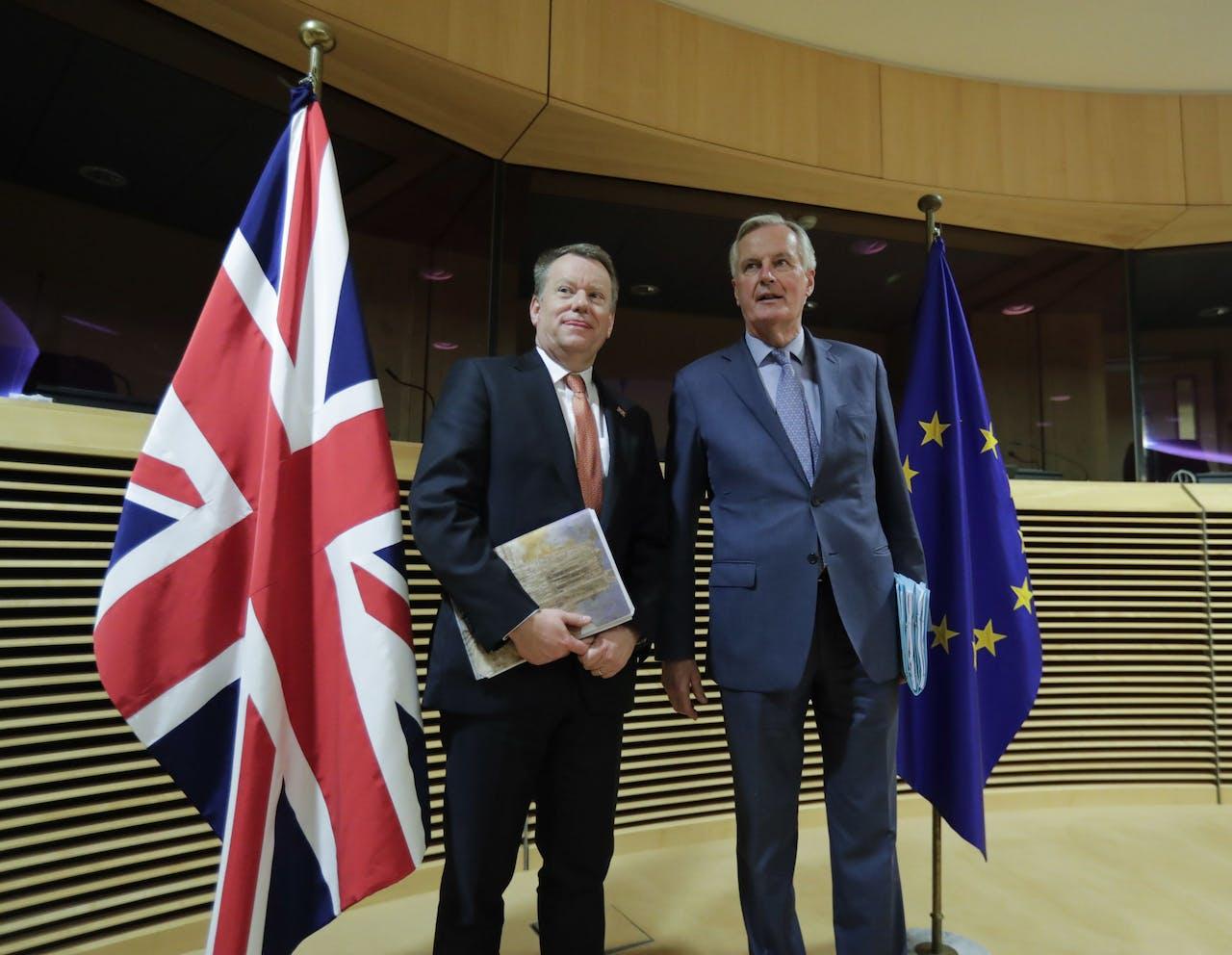 David Frost en Michel Barnier