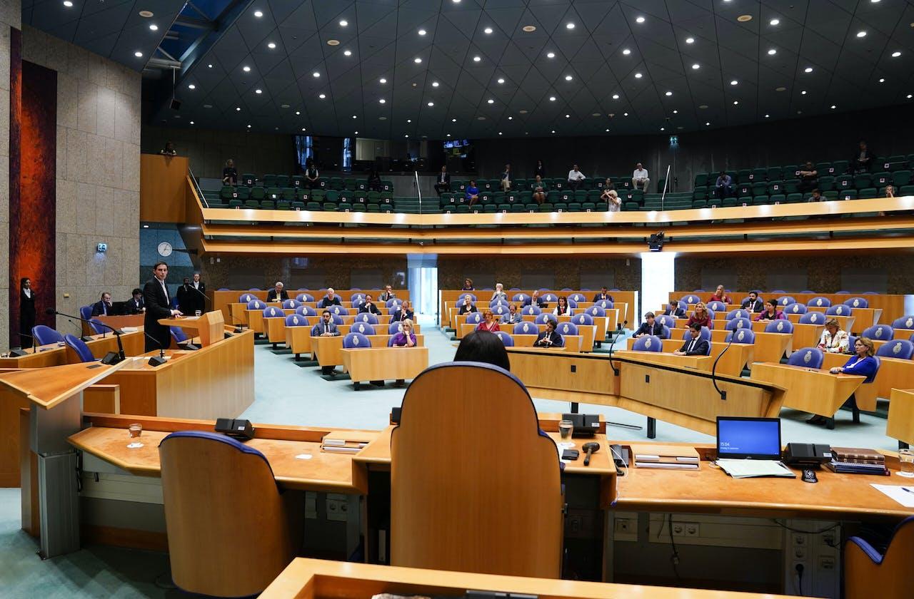 Minister Wopke Hoekstra van Financien