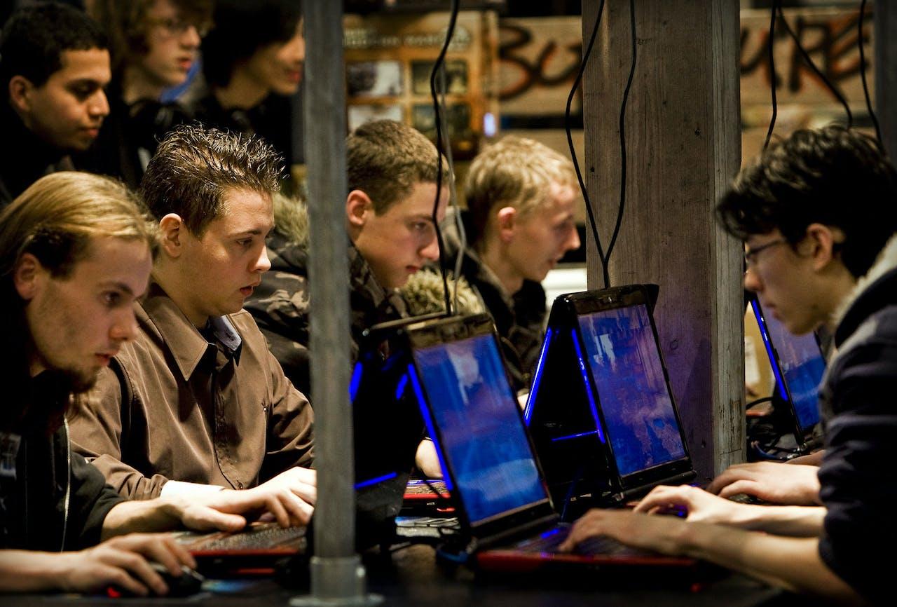 Stockfoto jongeren
