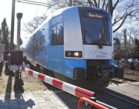Connexxion is met de trein de uitvoerder van de Valleilijn op het traject Amersfoort-Ede.
