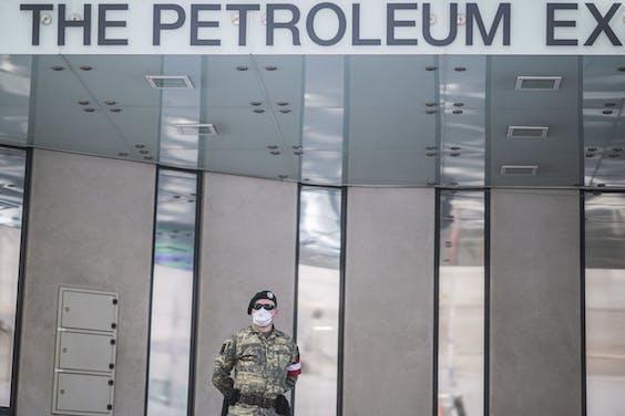 Het hoofdkwartier van de OPEC in Wenen
