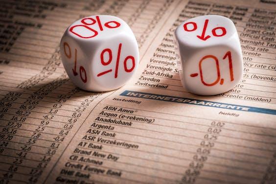 DEN HAAG - XTRA - Negatieve rentestand. ANP LEX VAN LIESHOUT