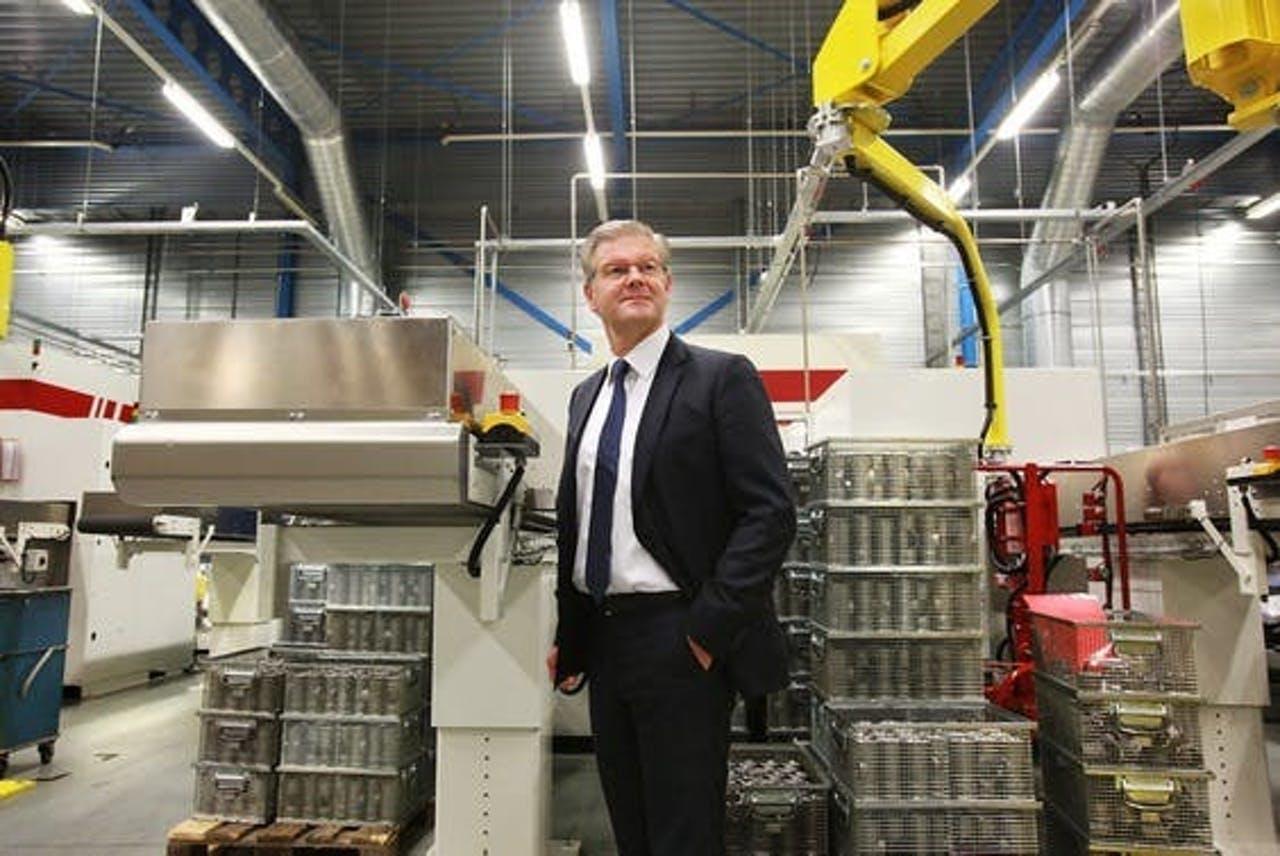 CEO Wim Pelsma van Aalberts