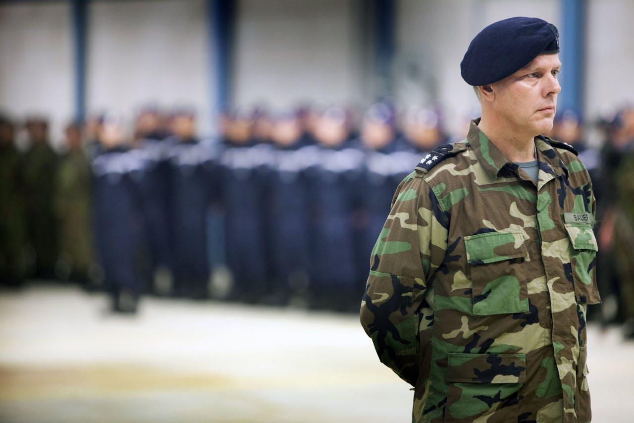 Luitenant-admiraal Rob Bauer, de nieuwe Commandant der Strijdkrachten.