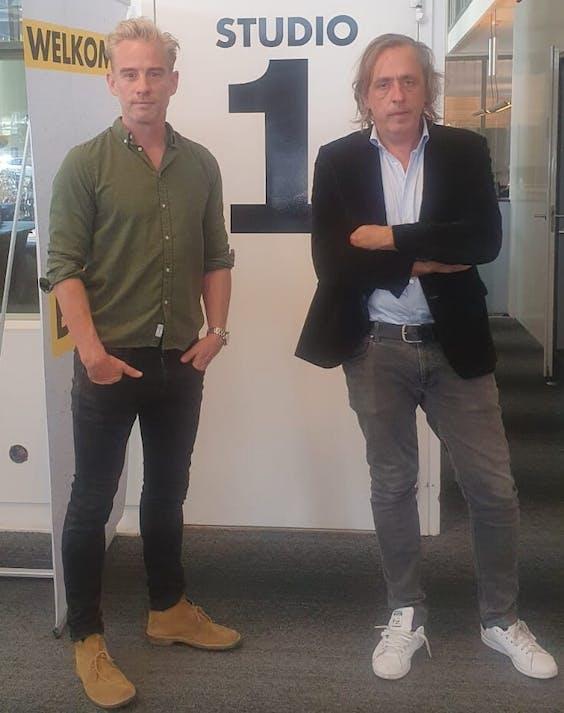 Art Rooijakkers en Marcel van Roosmalen