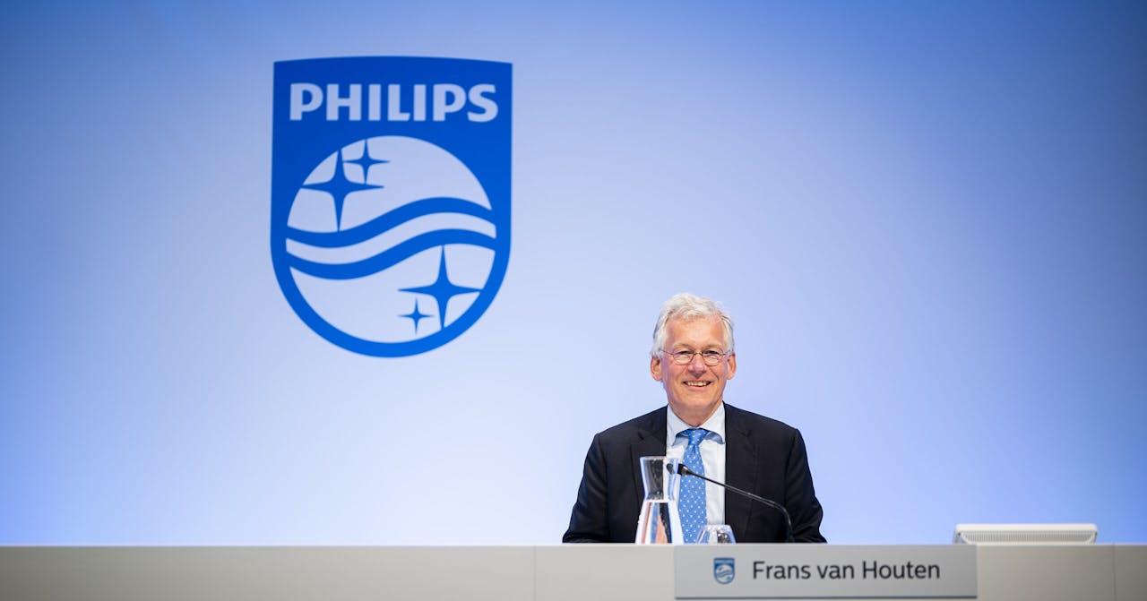 CEO Frans van Houten in het Philips