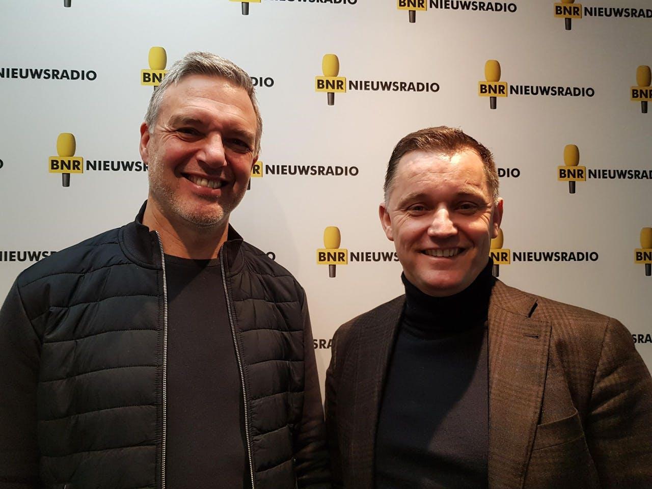 Paul Laseur (links) en Karst-Jan Beens van Beens Groep