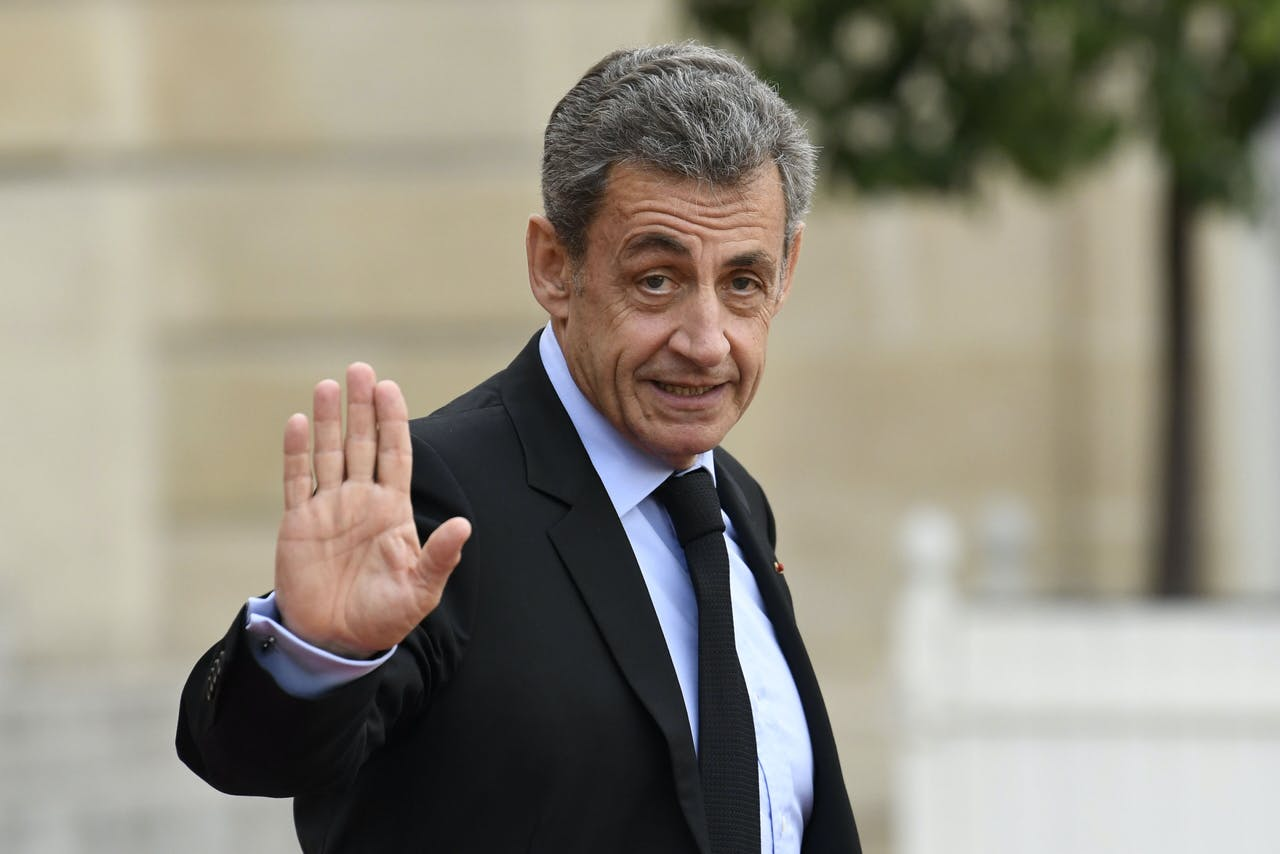 Oud-president Nicolas Sarkozy