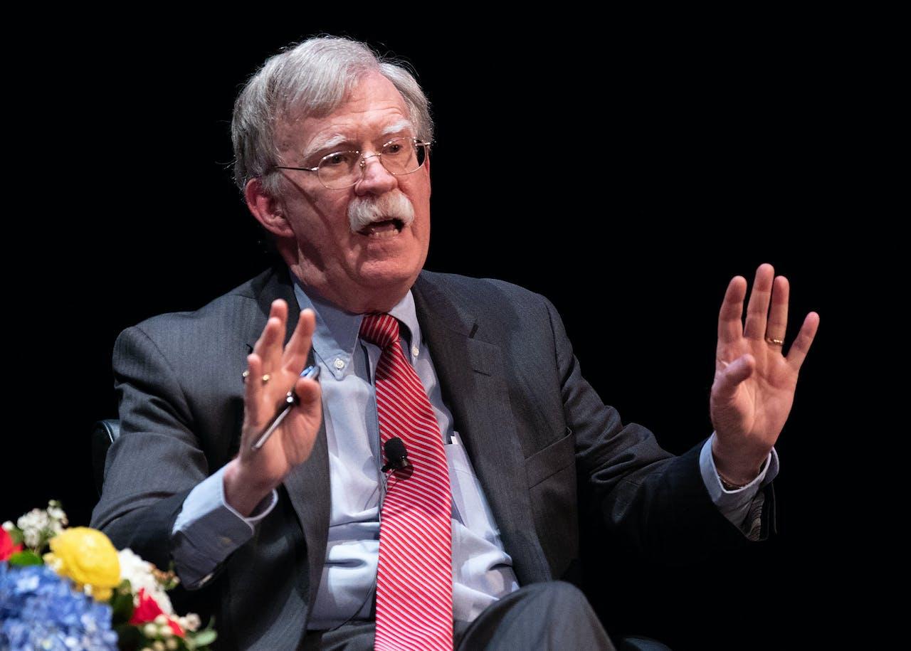 Voormalig topadviseur John Bolton