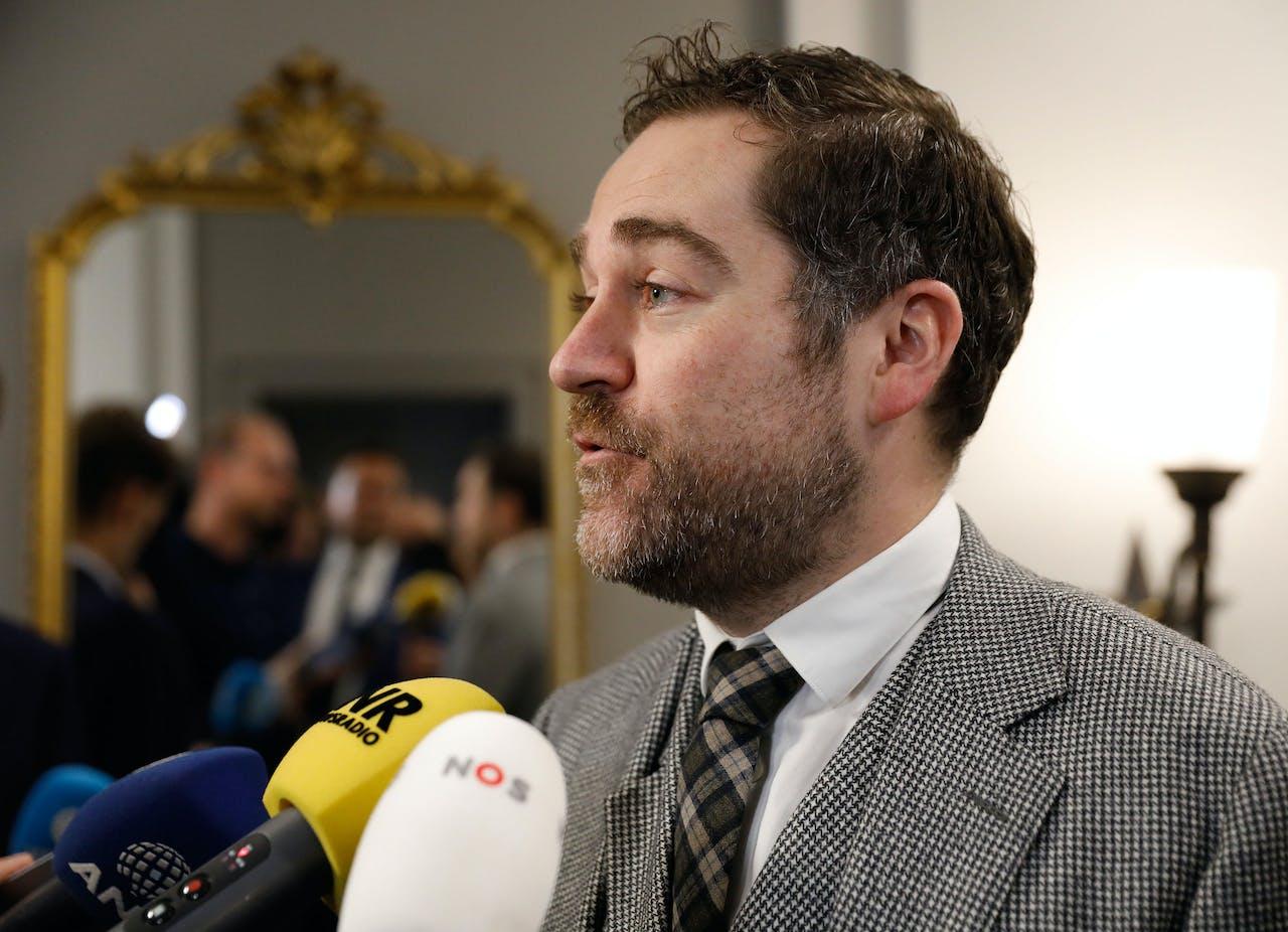 De fractievoorzitter van de VVD Klaas Dijkhoff