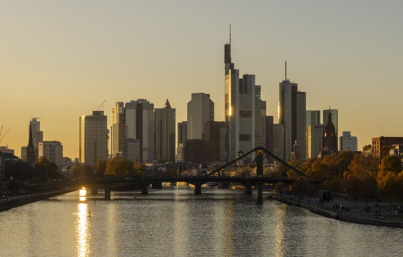 De ECB in Frankfurt