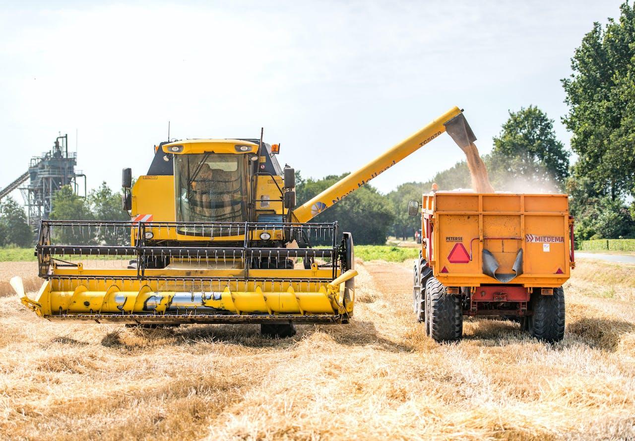 Procentueel gezien is er 20 tot 30 procent minder opbrengst te halen met de oogst. 'Dat soort winstmarges hebben wij over het algemeen niet in de sector. Dus voor die bedrijven wordt het een heel moeilijk jaar', zegt Van Wenum.