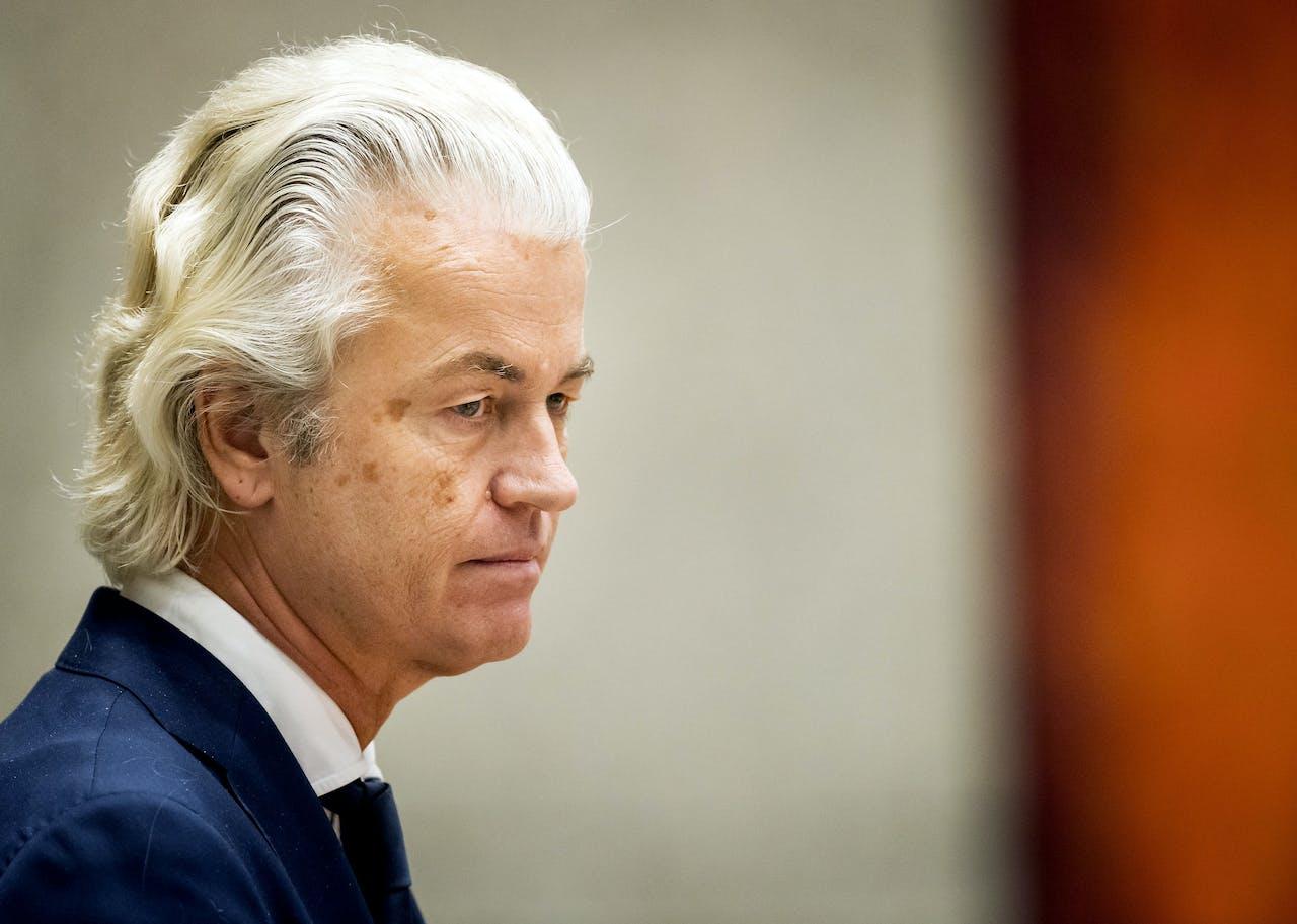 PVV-leider Geert Wilders over de drie miljard euro aan lastenverlichting: 'Een kruimel'.