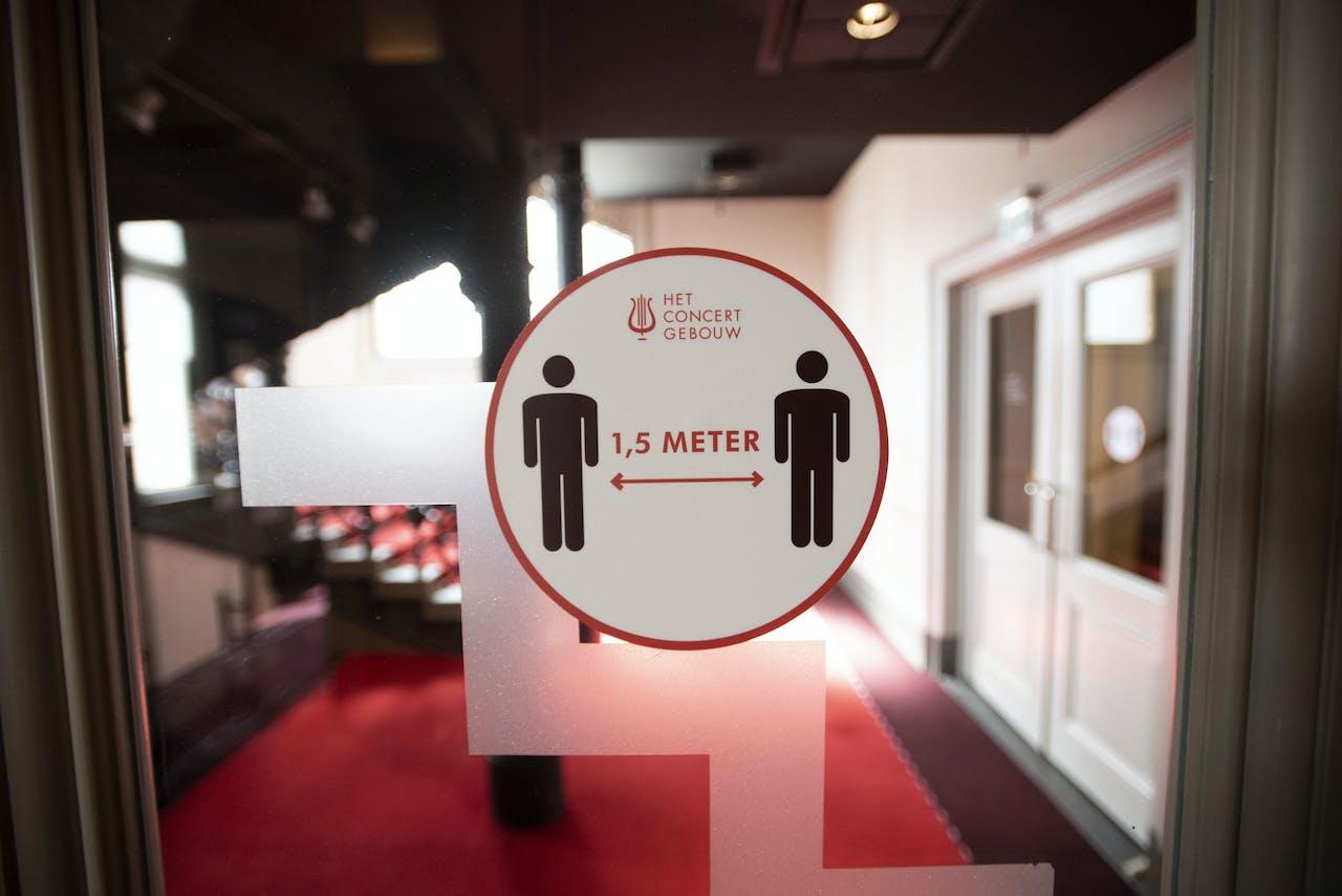 Anderhalve meter in het Concertgebouw in Amsterdam
