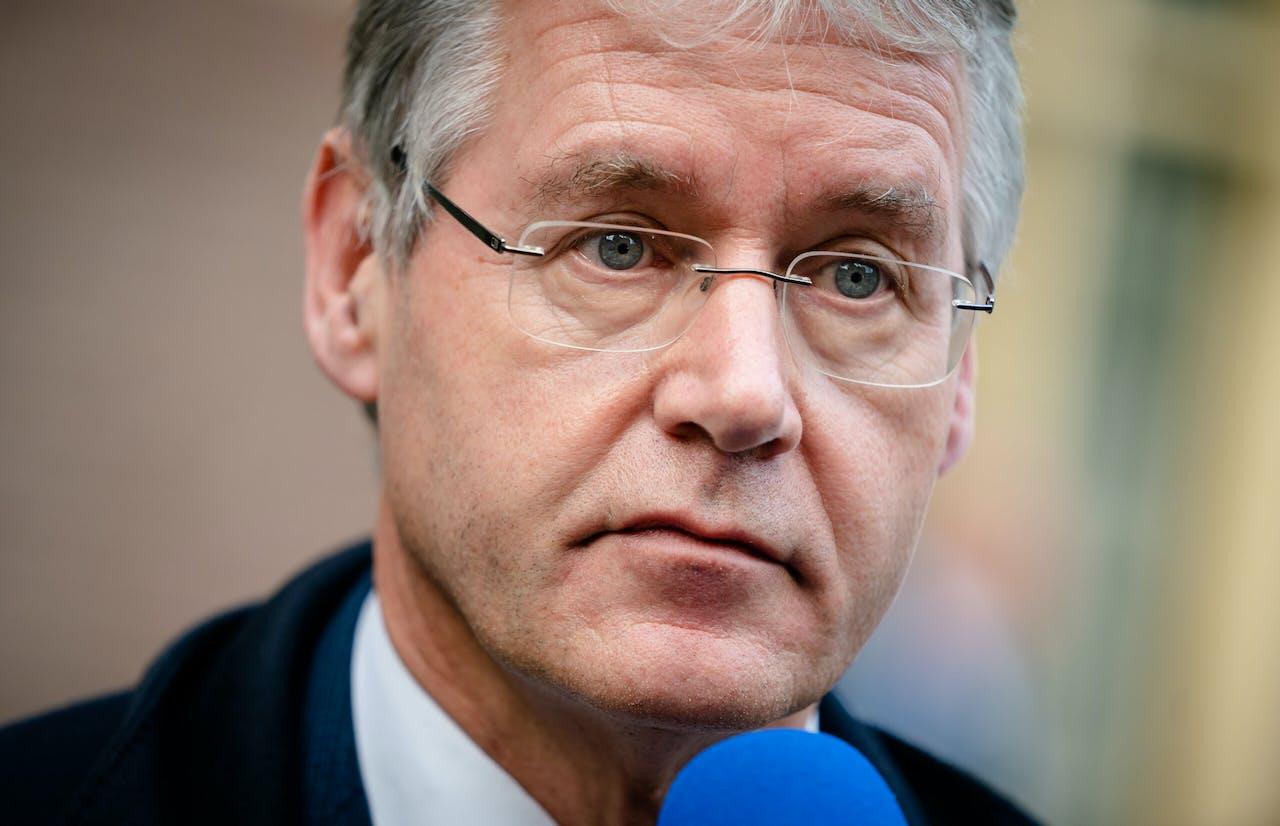 2020-11-10 14:37:59 DEN HAAG - Minister Arie Slob voor Basis- en Voortgezet Onderwijs en Media (ChristenUnie).
