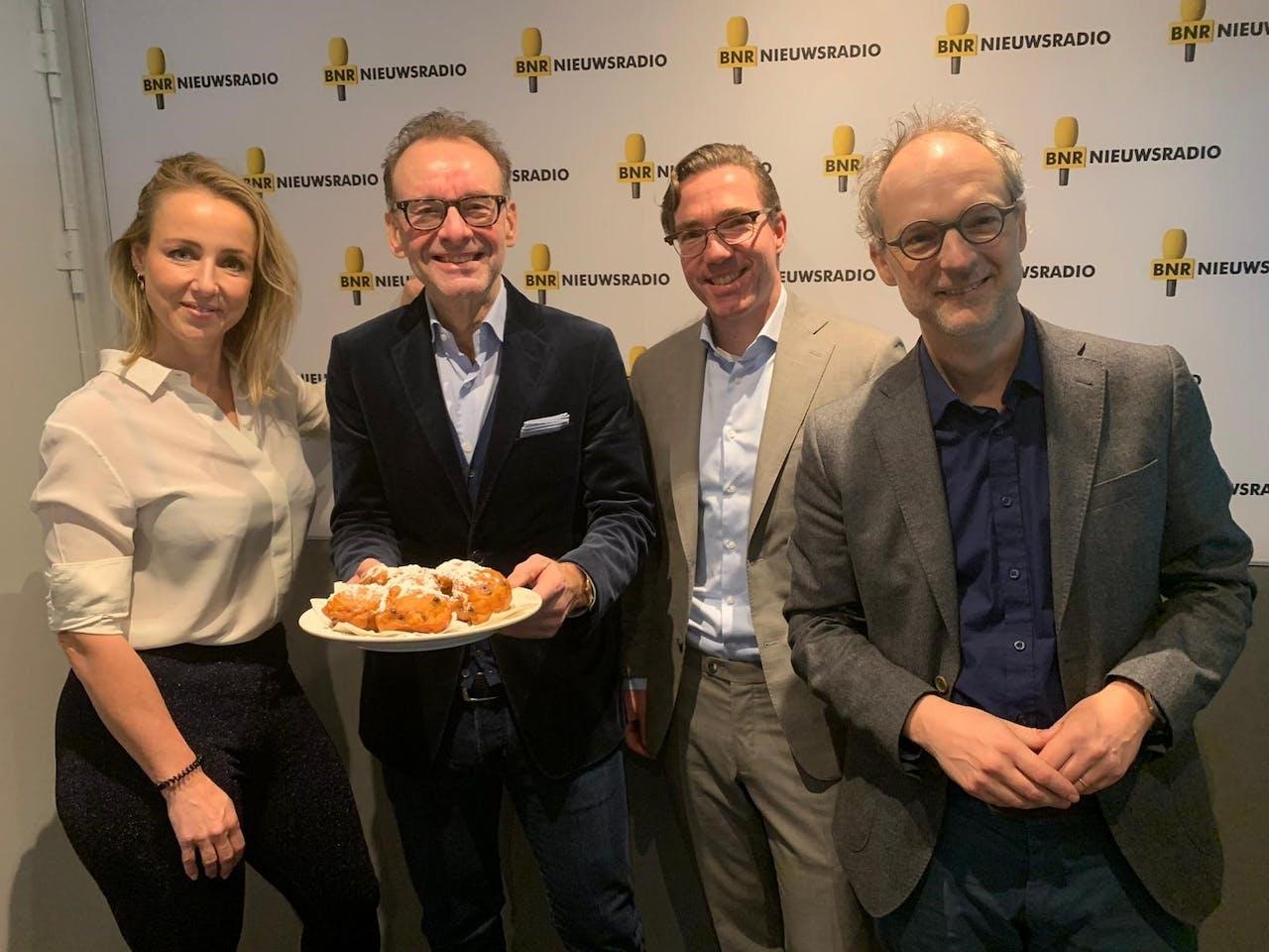 Marielle van Essen, Paul van Liempt, Armin Cuyvers en Christiaan Alberdingk Thijm