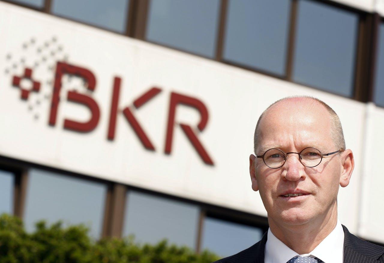 Peter van den Bosch, de algemeen directeur van het Bureau Krediet Registratie BKR. ANP ROBERT VOS
