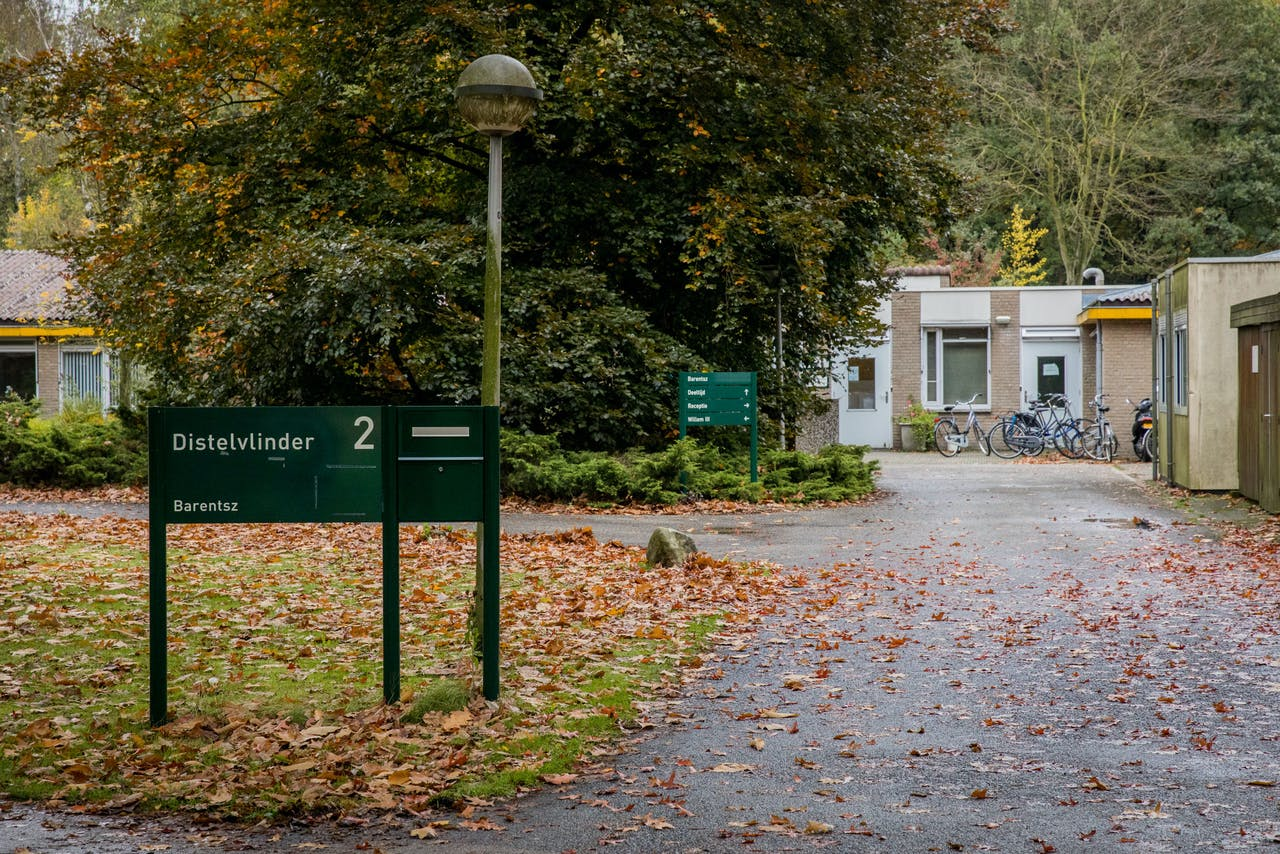 DEN DOLDER - De politie doet onderzoek bij de psychiatrische kliniek Altrecht Aventurijn.
