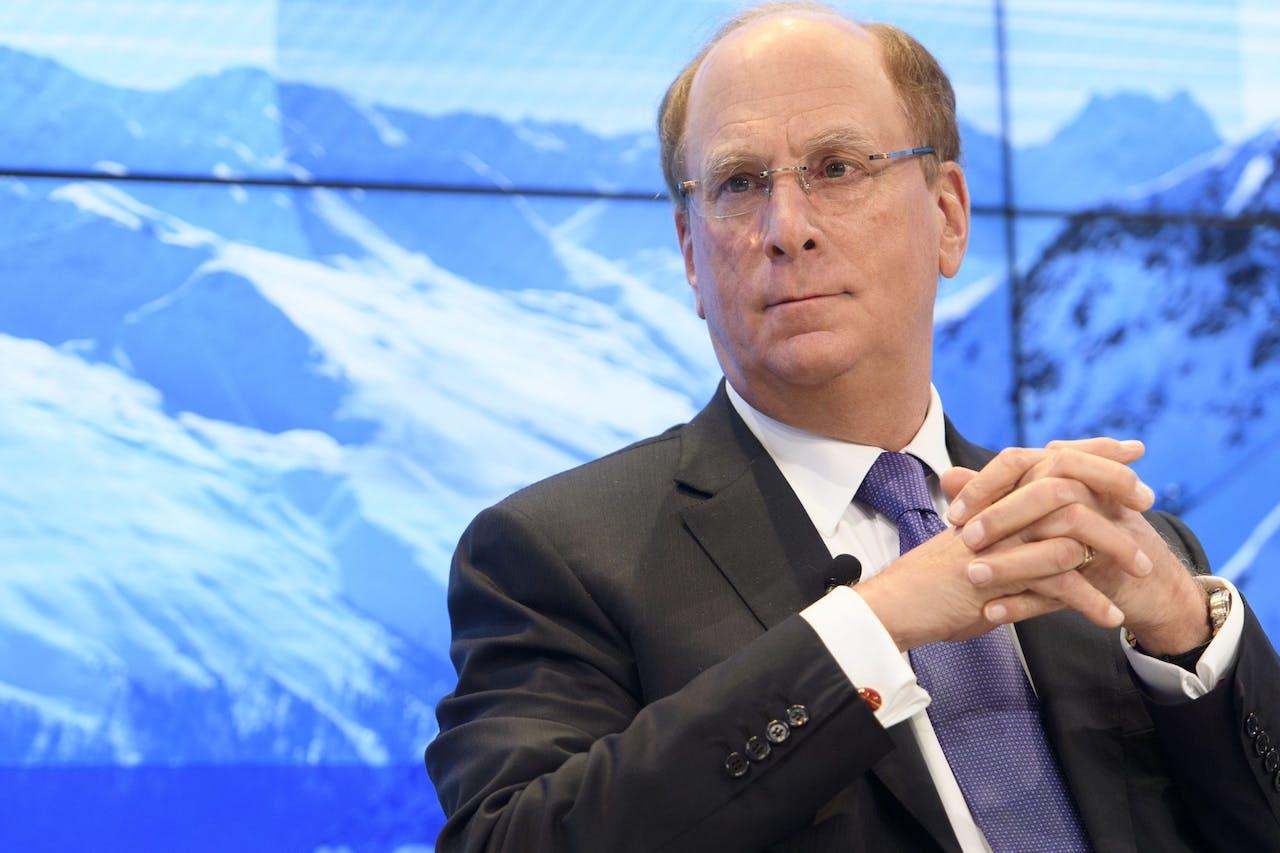 Larry Fink, CEO van Blackrock