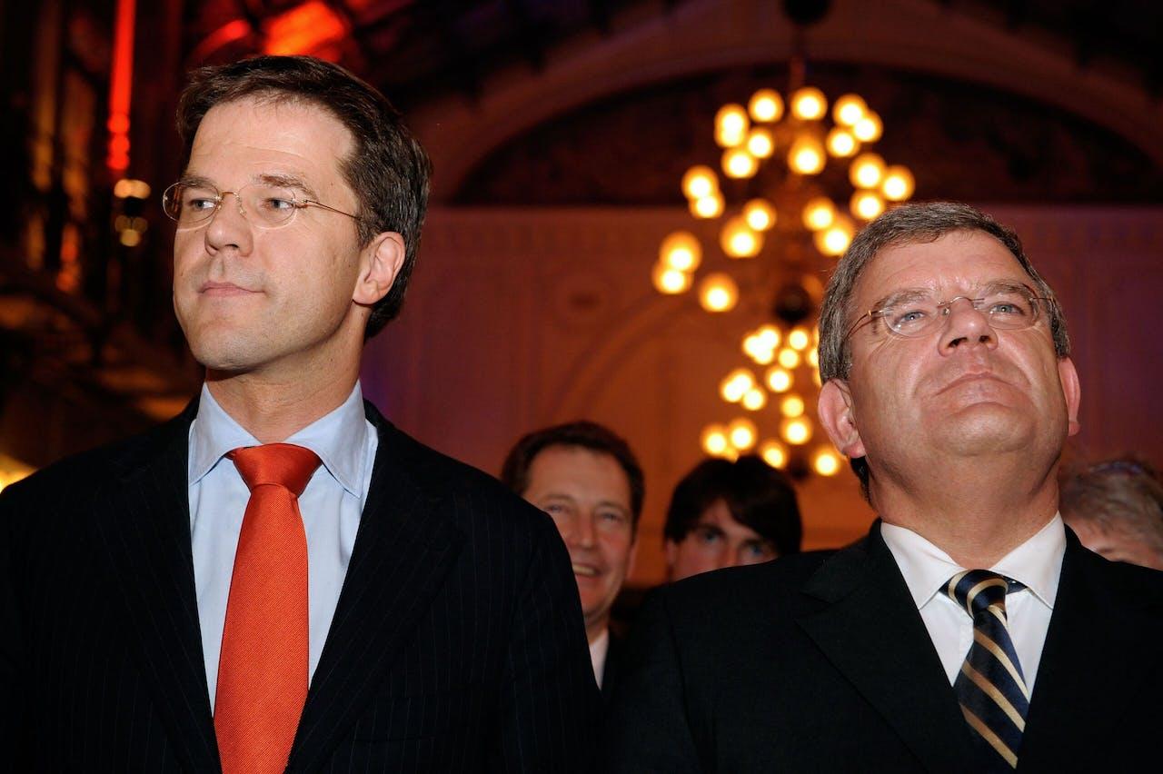 Rutte en Van Zanen