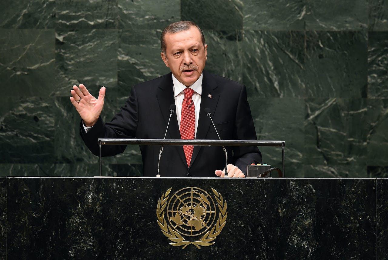 President van Turkije Recep Tayyip Erdogan.