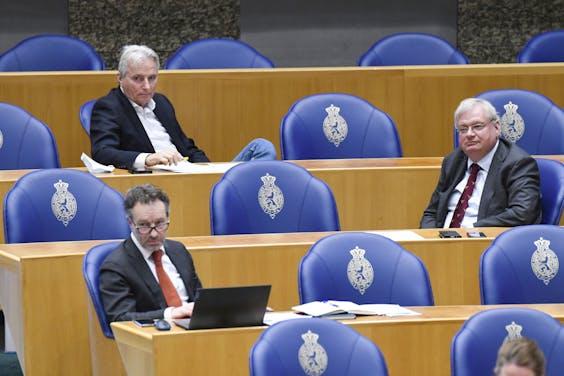 Wybren van Haga, Hans Smolders en Olaf Ephraim.
