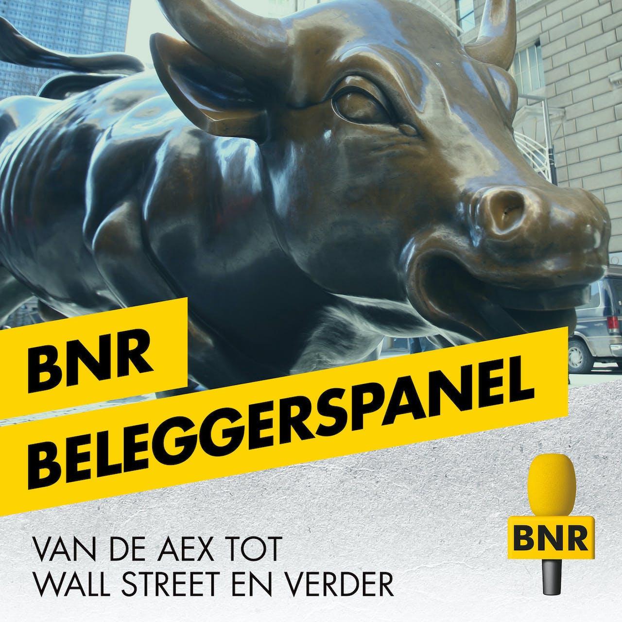 BNR radio vormgeving voor de losse programma's beleggerspanel