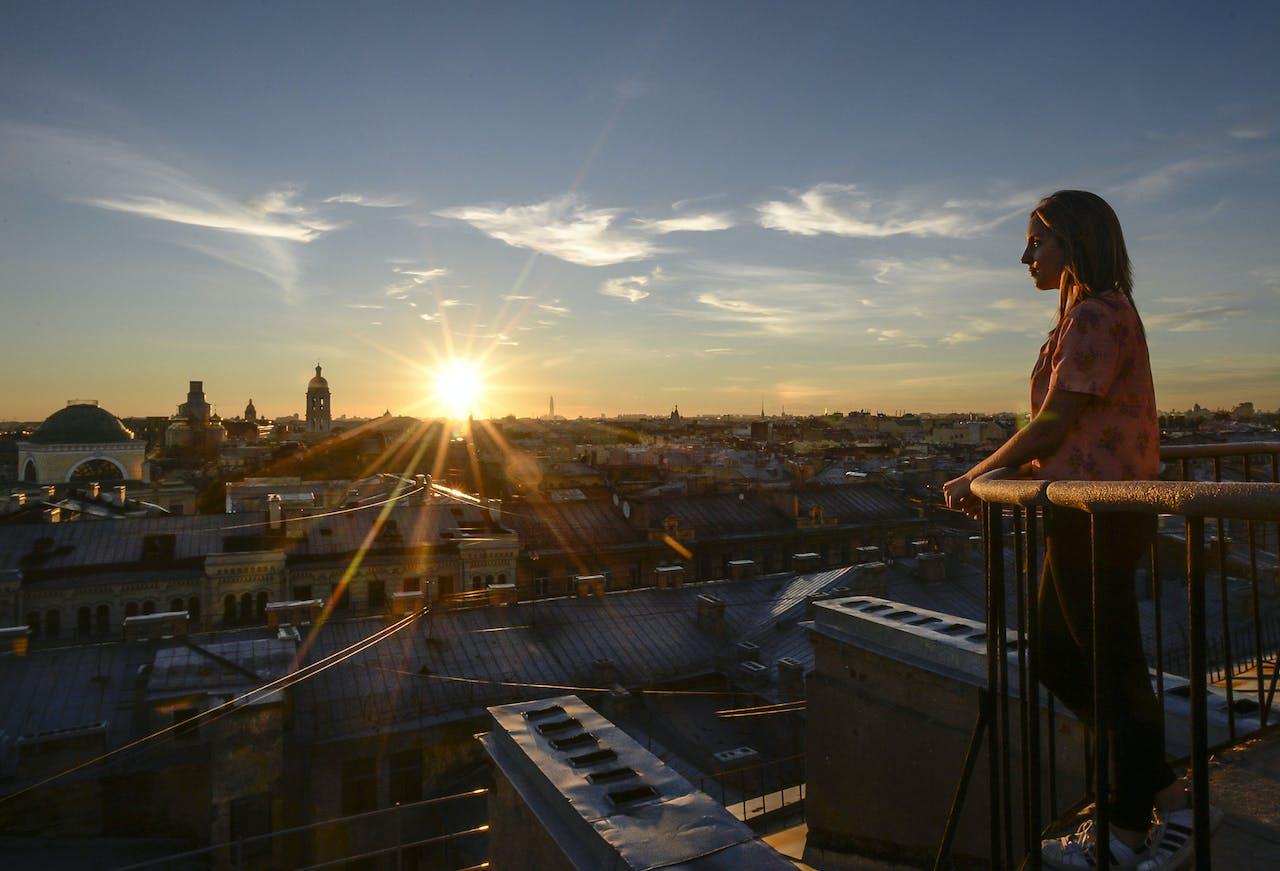 Toerisme in St. Petersburg.
