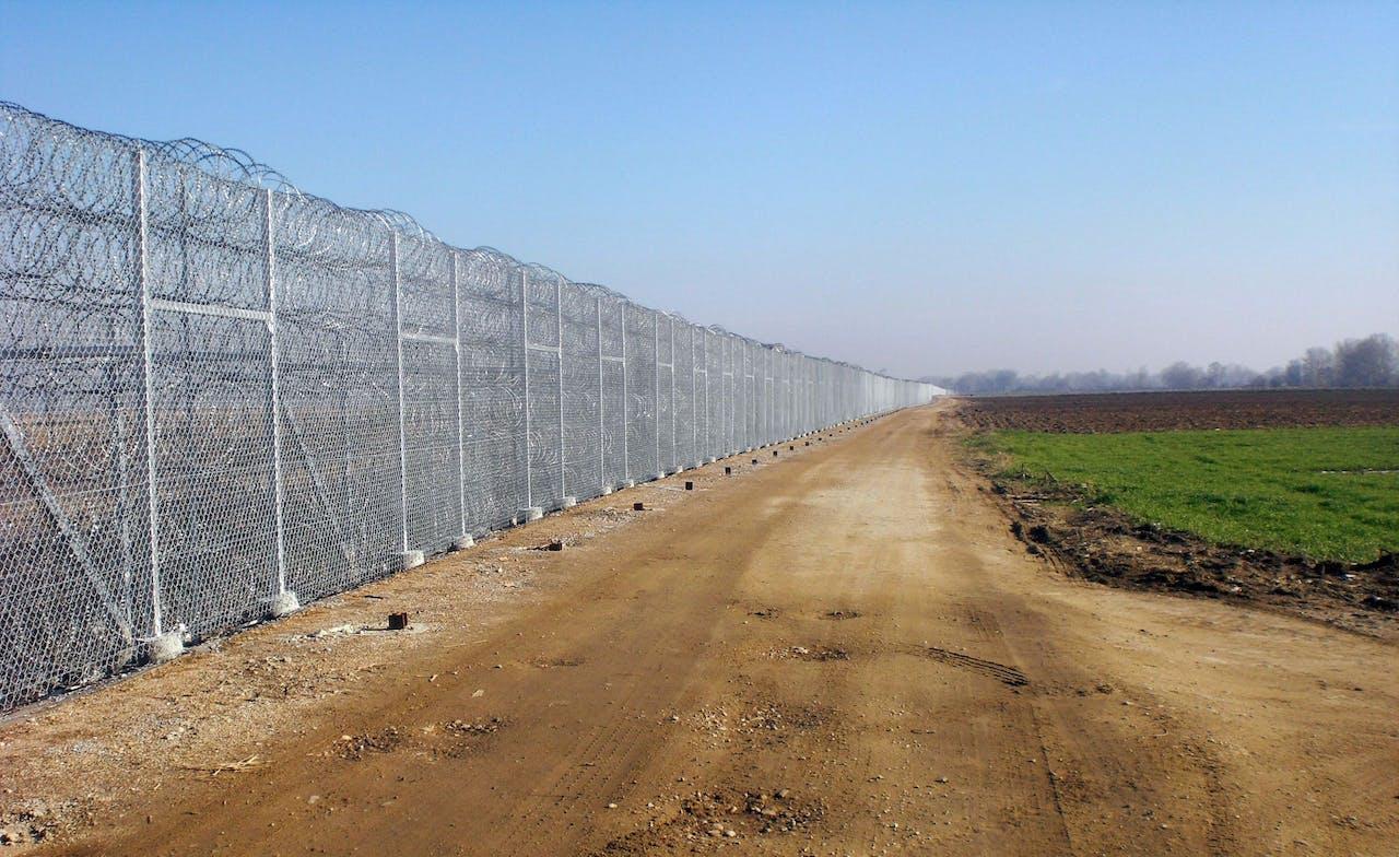 Hek aan Grieks-Turkse grens