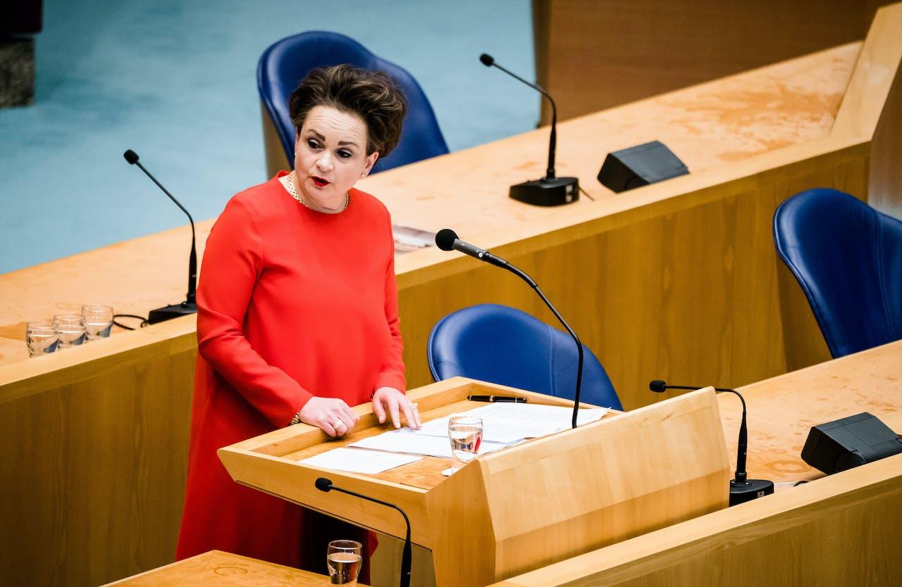 Staatssecretaris Alexandra van Huffelen van Financiën
